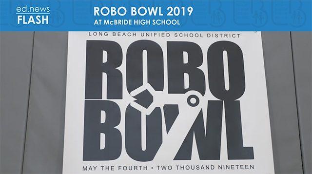 ed.news Flash - Robo-Bowl 2019 - Video