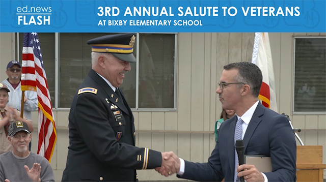 ed.news Flash - Salute to Veterans  - Video