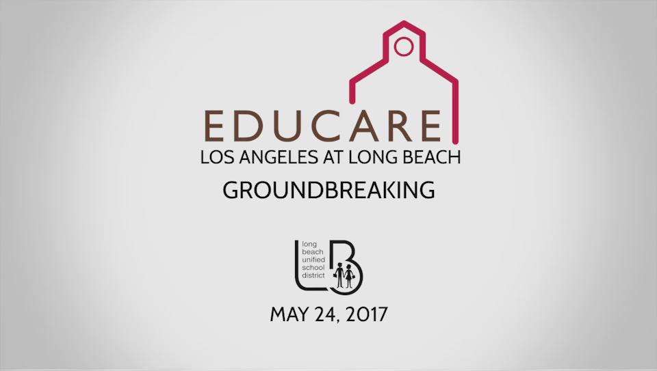 Educare Groundbreaking Ceremony - May 24, 2017 [HD] - Video