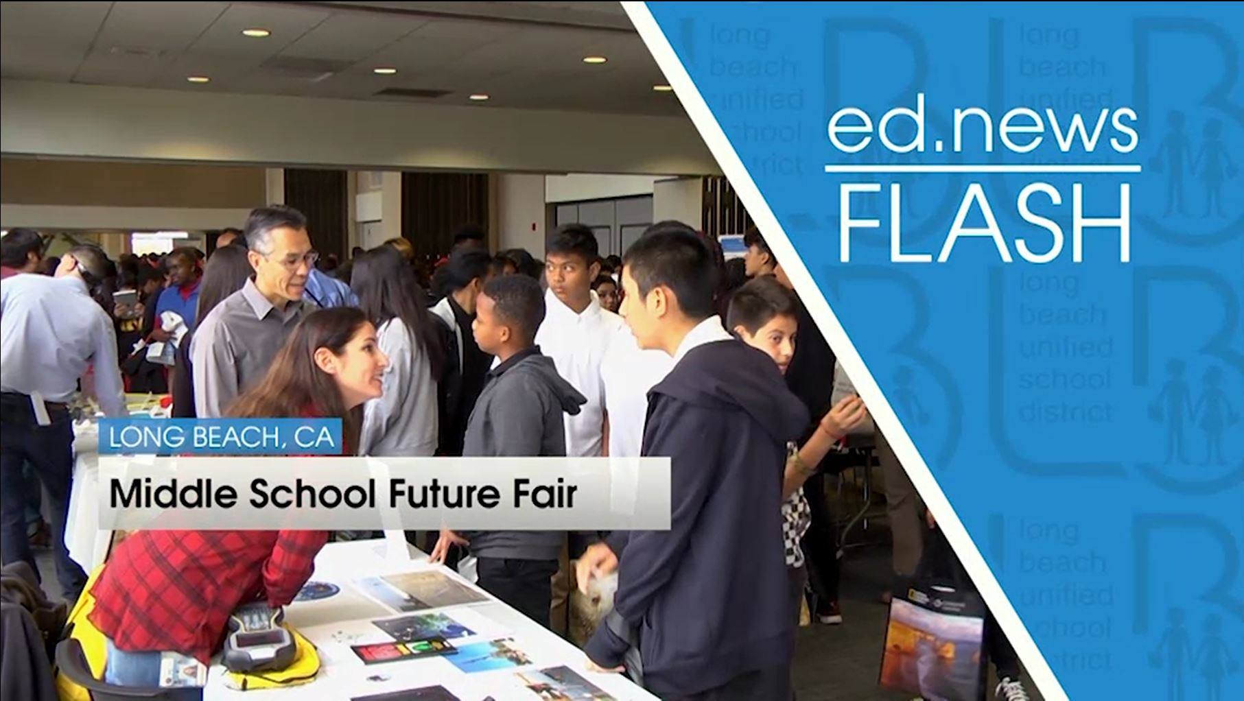 ed.news Flash - Middle School Future Fair [HD] - Video