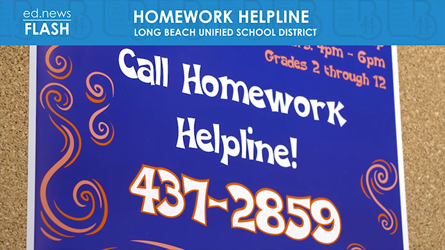 ed.news Flash - Homework Helpline - Video