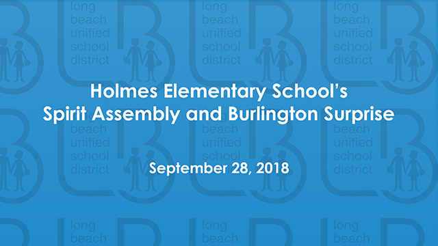 Holmes Elementary Spririt Assemby and Burlington Surprise [HD] - Video