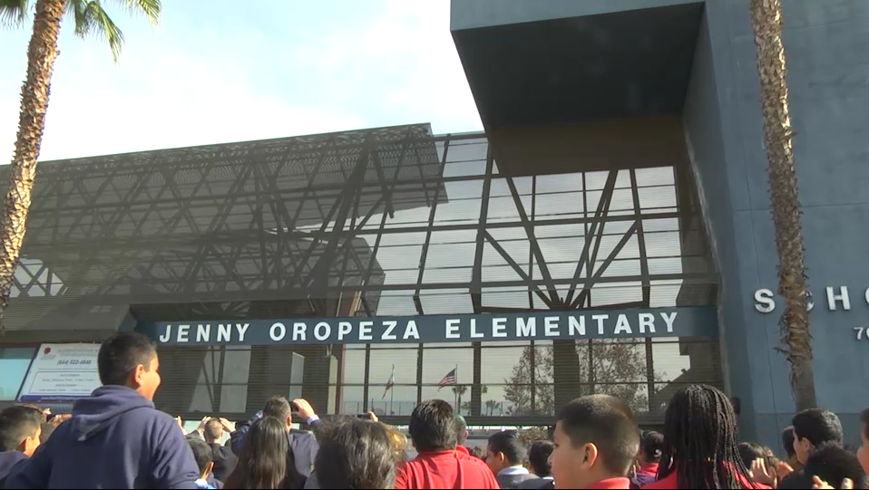 Oropeza School Renaming Ceremony - Video