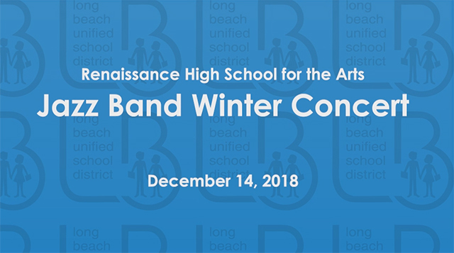 Renaissance Jazz Band Winter Concert - Video
