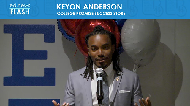 ed.news Flash - Keyon Anderson  - Video