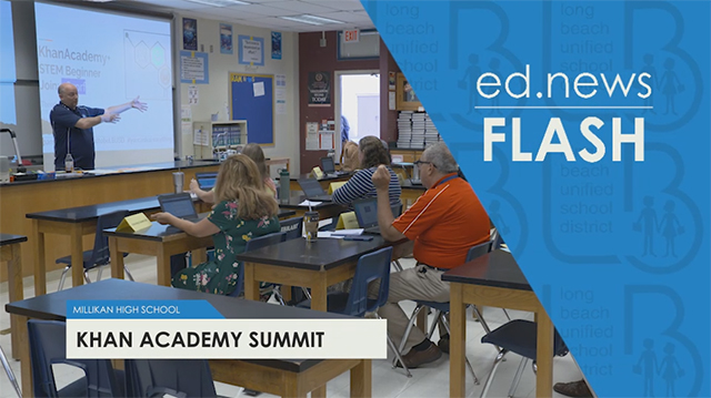 ed.news Flash - Khan Academy Summit - Video