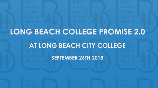 Long Beach College Promise 2.0 at LBCC  [HD] - Video