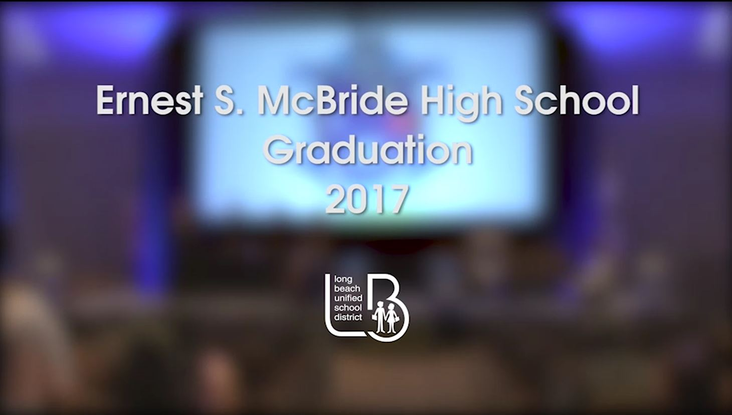 McBride High School Graduation 2017 - Video
