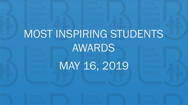 Most Inspiring Students Awards 2019 [HD] - Video