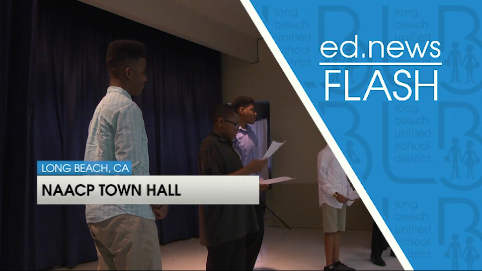 ed.news Flash - NAACP Town Hall [HD] - Video