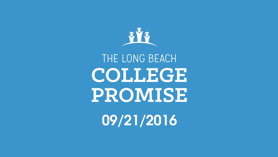 Long Beach College Promise 2016 - Video