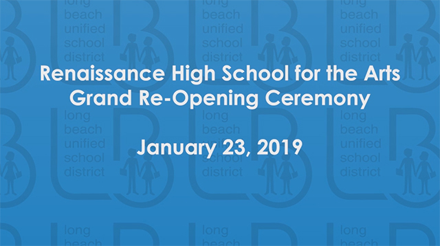Renaissance High School Grand Re-Opening - Video