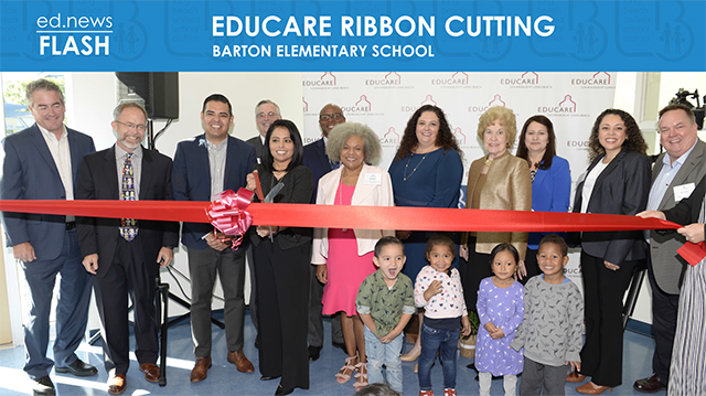 ed.news Flash - Educare Ribbon Cutting - Video