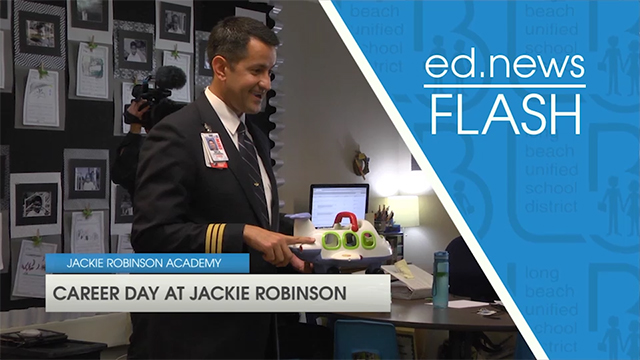 ed.news Flash - Career Day at Robinson  - Video