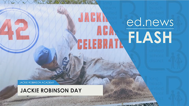 ed.news Flash - Jackie Robinson Day - Video