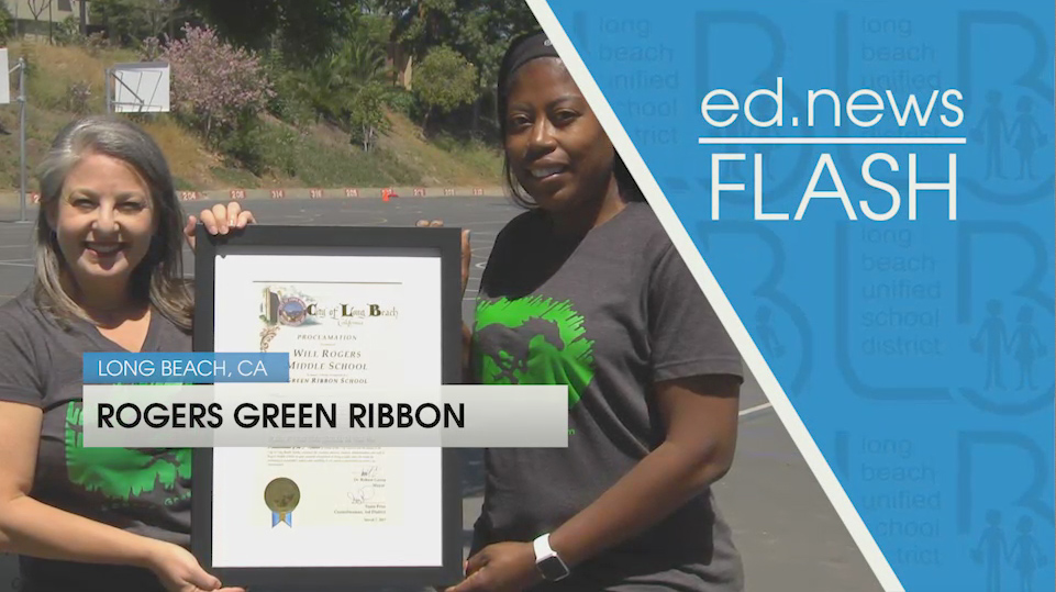 ed.news Flash - Rogers Green Ribbon [HD] - Video