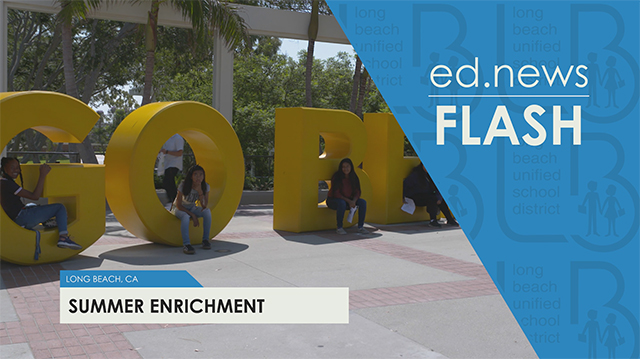 ed.news Flash - Middle School Summer Enrichment  (Short Version) - Video