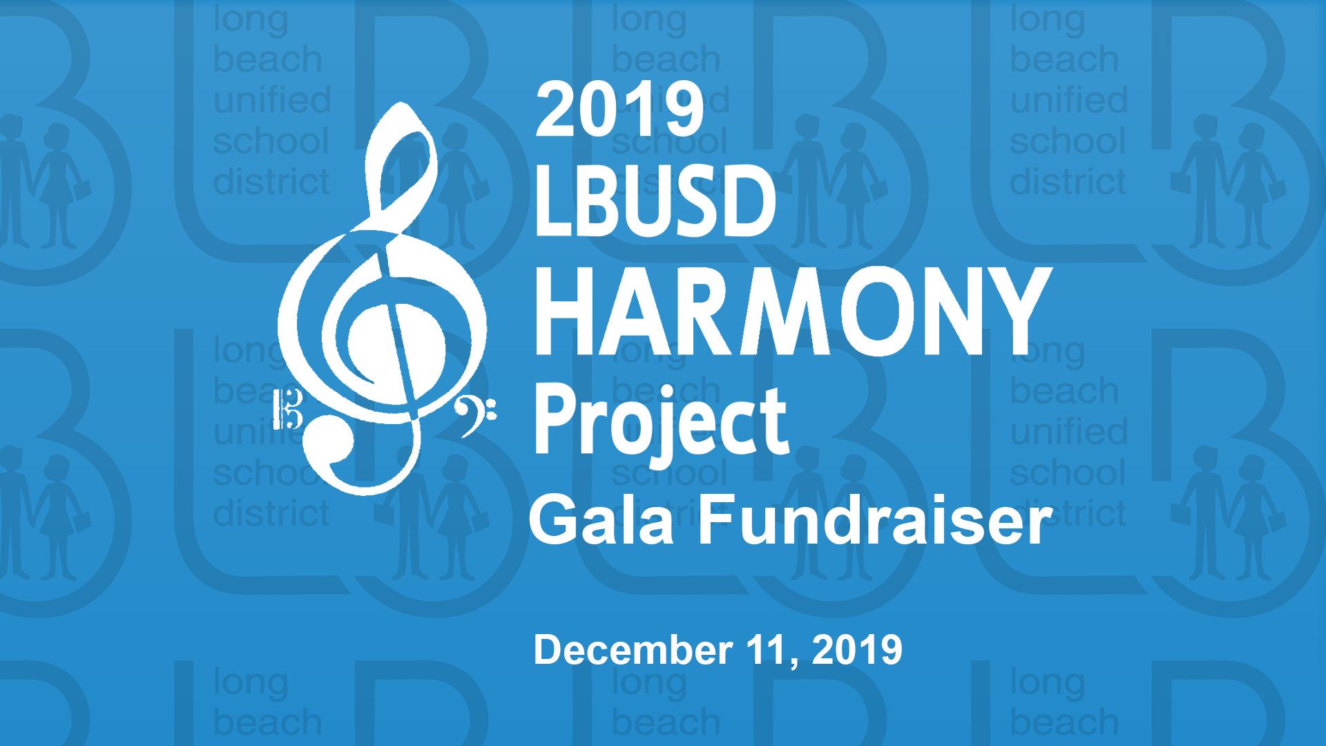 Harmony Project Gala Fundraiser 2019 - Video