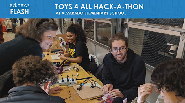 ed.news Flash - Toys 4 All Hack-A-Thon - Video