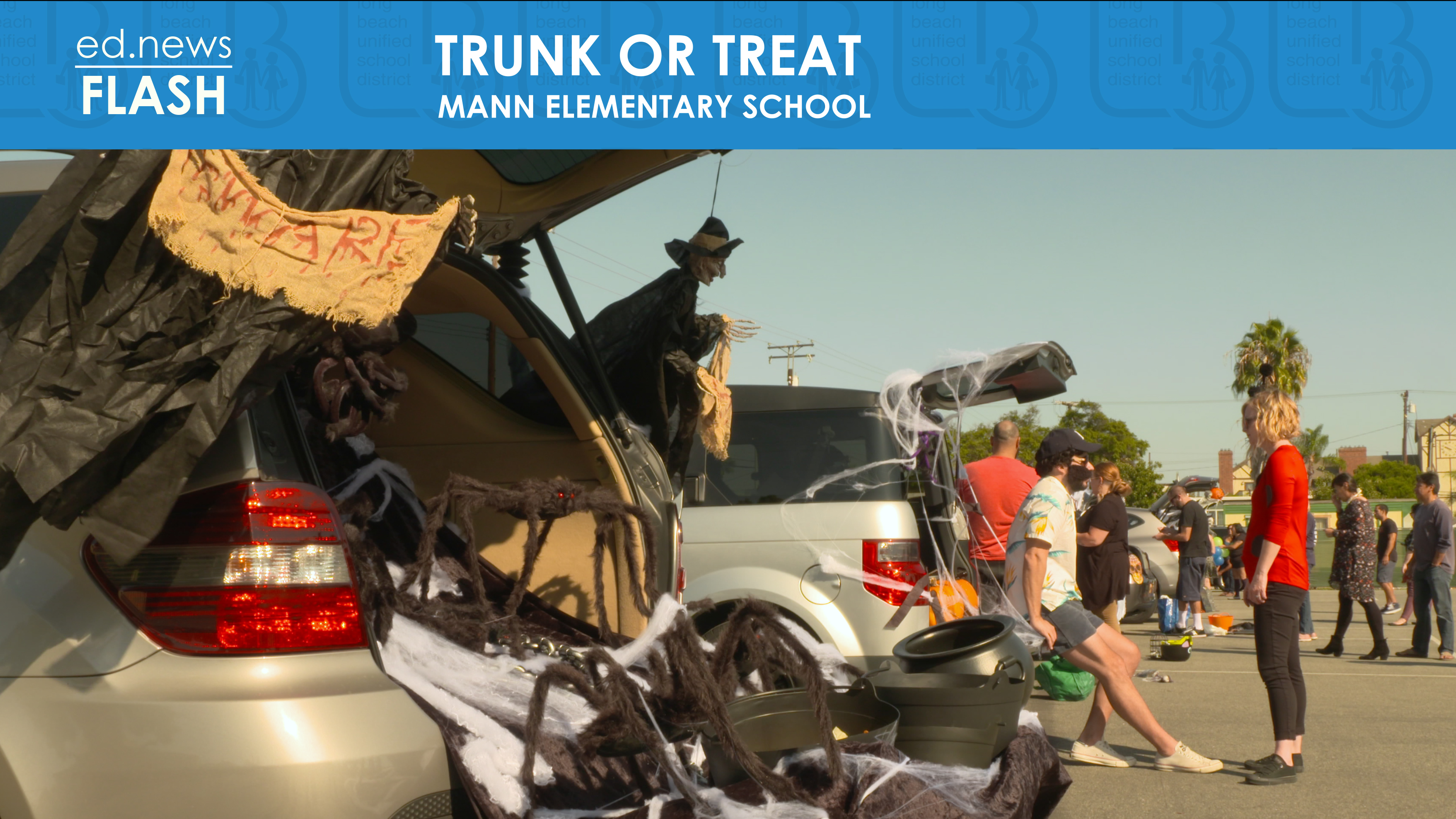 ed.news Flash - Trunk or Treat  - Video