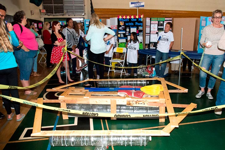 A student-engineered project