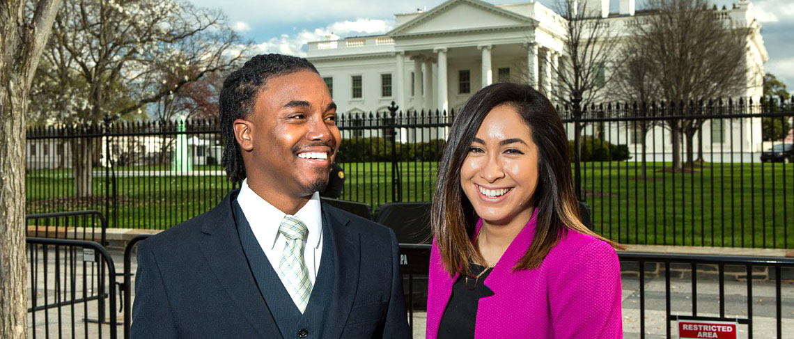 Alums Advocate at White House