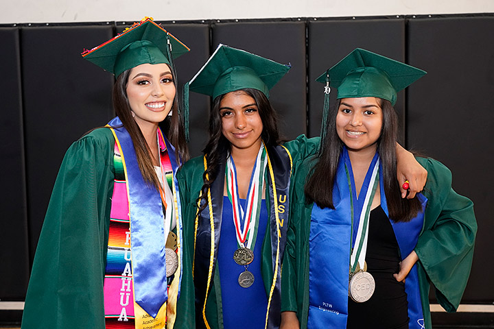 Students Celebrate Graduation - Image 1