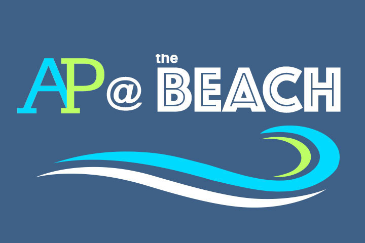 AP at the Beach Logo