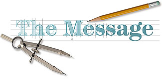 The Message Logo