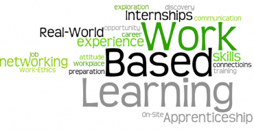 Work Based Learning Logo with words