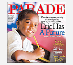 Photo - Parade Magazine Cover Praises Stevenson School