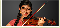Photo - Poly Violinist Starts College at 14