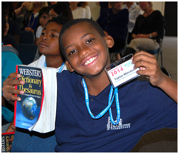 Photo - Dictionaries Donated to All 3rd Graders