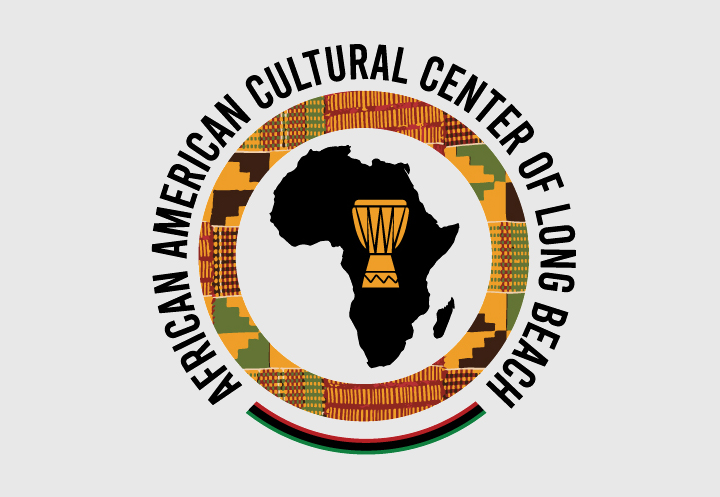 Winning logo for the African American Cultural Center of Long Beach