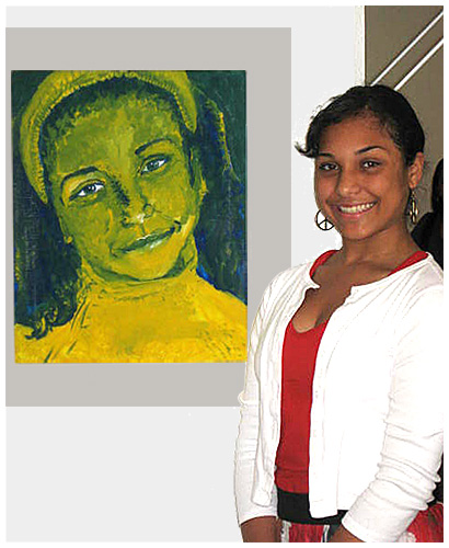 Photo - Millikan Art Student Wins 1st in County