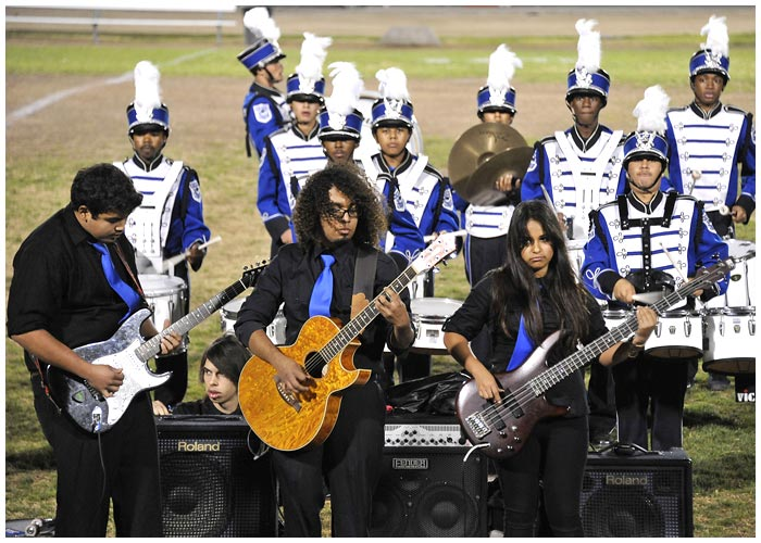 Photo - Band Spectacular a Crowd Pleaser