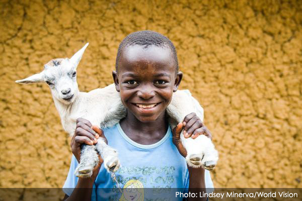 Photo - Sending Goats to Farmers in Need