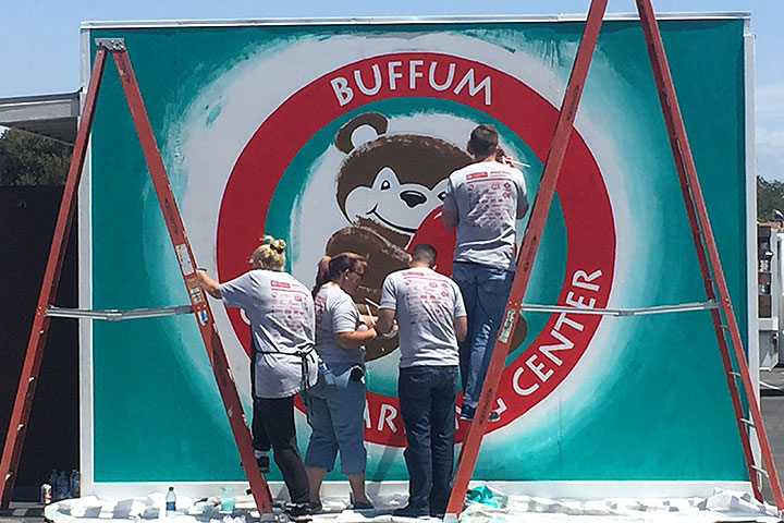 Photo - Some TLC for Buffum School