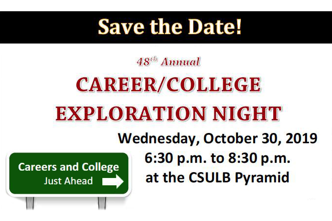 Career and College Night Flier Graphic