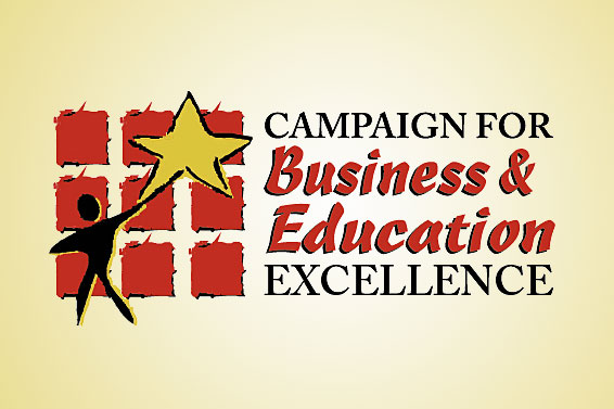 Business and Education Excellence logo.