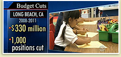 Photo - CBS Evening News Notes LBUSD Cuts