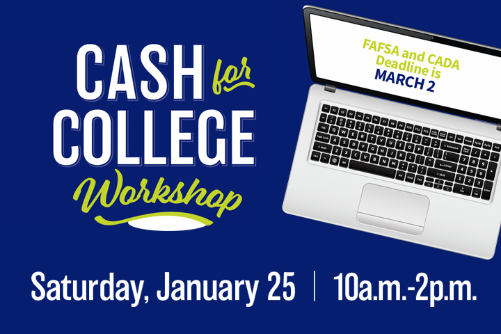 Cash for College Event Graphic