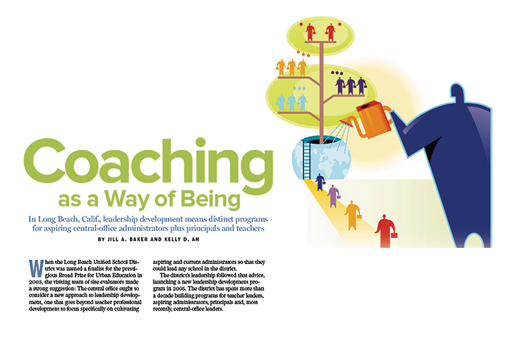 Coaching Article Graphic Art from Cover