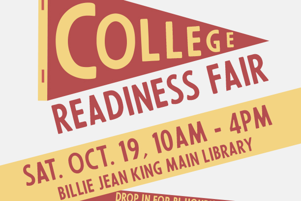 College Readiness Fair flier graphic
