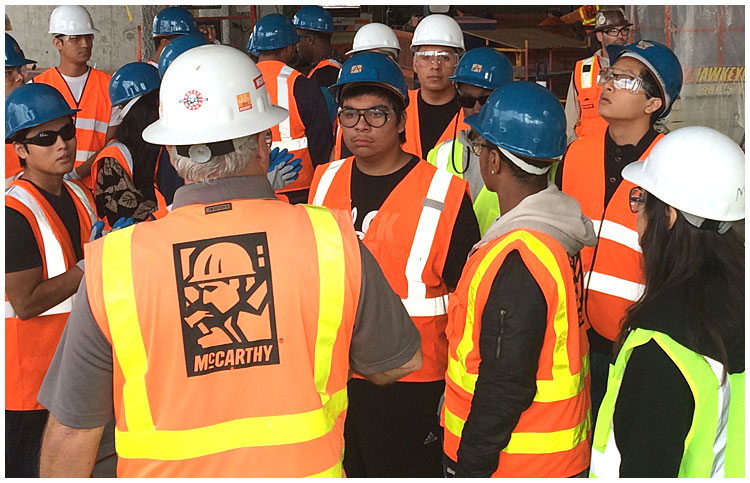 Photo - Learning About Construction Firsthand