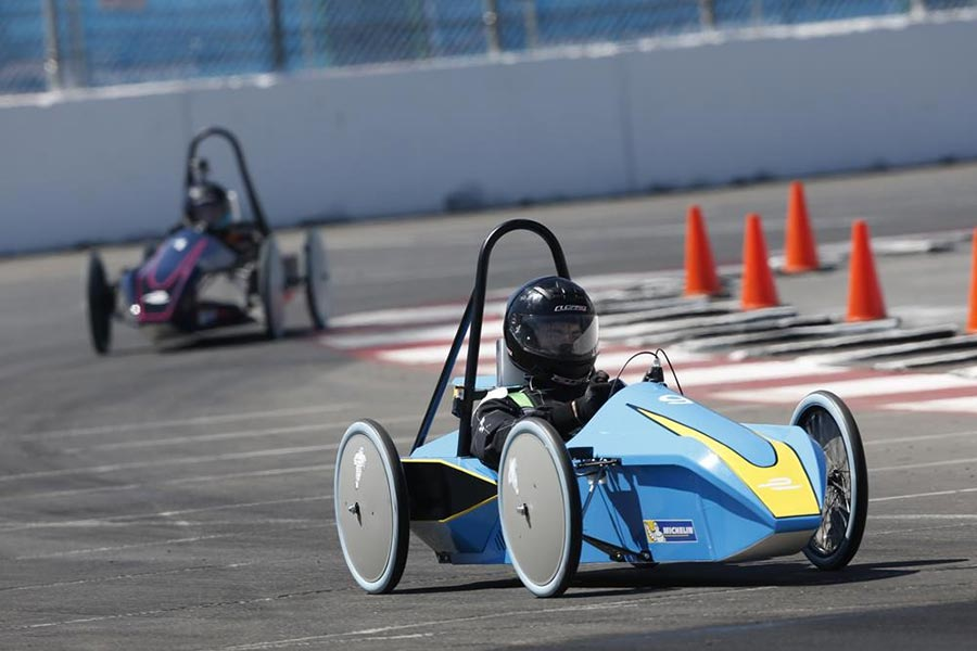 Photo - Millikan Takes 1st in Electric Car Race
