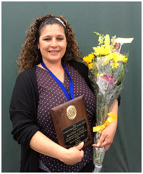 Photo - Employee of Year: Millikan's 'Mrs. Bea'