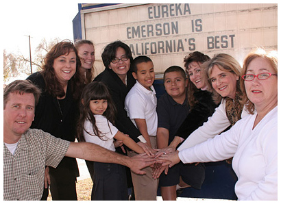 Photo - Emerson School Wins State Baldrige Honor