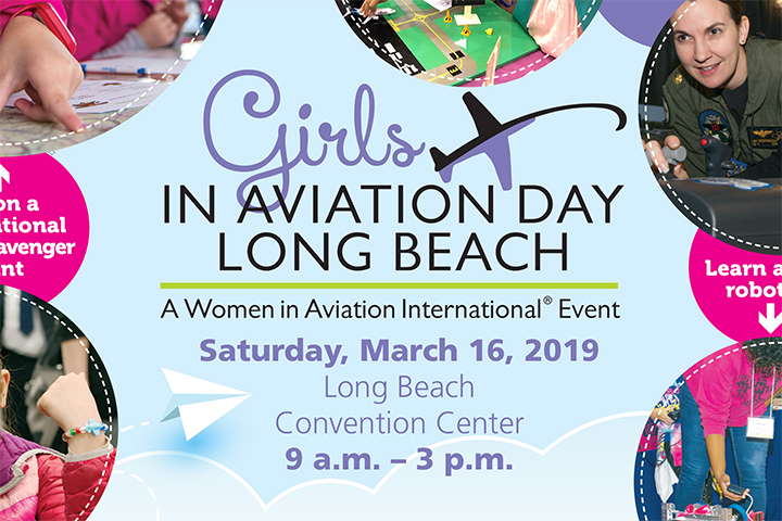 Photo - Girls in Aviation Event is March 16