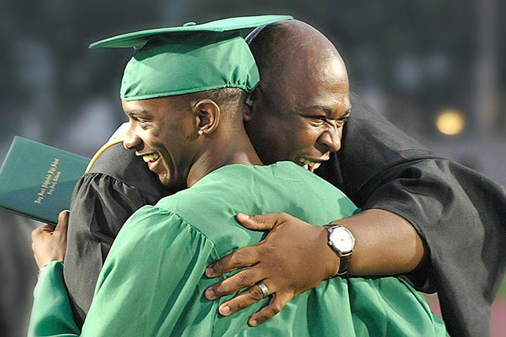 Photo - Grad Rates Up for 3rd Year in a Row